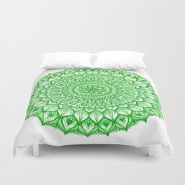 Sand Dollar-Green Duvet Cover