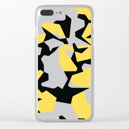 Search products, artworks and themes Yellow CAMO, Keep your stuff hidden in plain sight! Clear iPhone Case