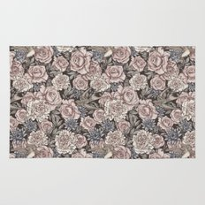 Flowers & Swallows Rug