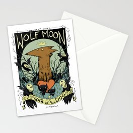 Year of the Dog: Werewolf Wednesday Stationery Cards