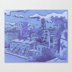 Brooklyn View Canvas Print