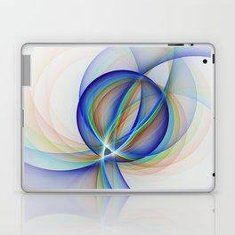 Colorful Design, Modern Fractal Art Laptop & iPad Skin