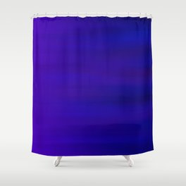 Ultra Violet to Indigo Blue Ombre Shower Curtain