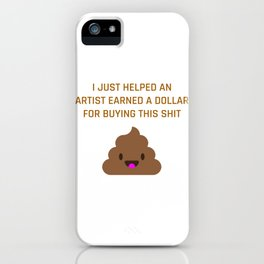 Help an Artist iPhone Case