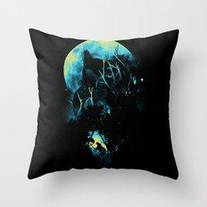 Lurking Throw Pillow