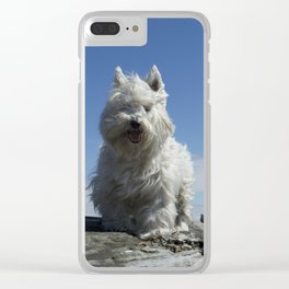 Carver by the sea Clear iPhone Case