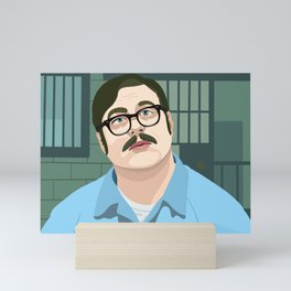Mindhunter Ed Kemper Mini Art Print