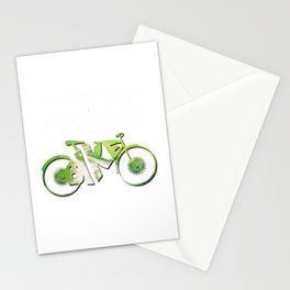 Everyday Is A Good Day When You Ride A Bike Biking Cyclist Riding Party Velo Club Stationery Cards