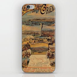 Oriental railways to Constantinople iPhone Skin