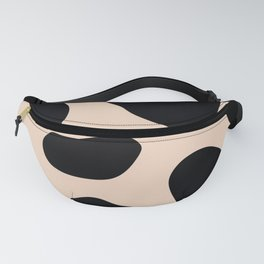 Golden exotics - Cow and soft tangerine Fanny Pack