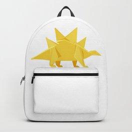 Origami Stegosaurus Flavum Backpack