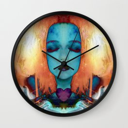 My fire will always burn bright Wall Clock