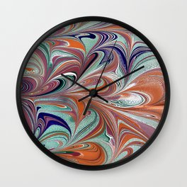 Color Blast   Wall Clock