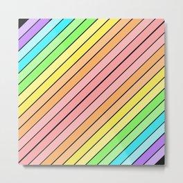 Rainbow Sherbert 2 Metal Print