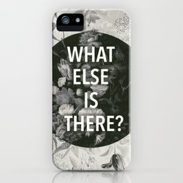 And the flashlights, nightmares And sudden explosions iPhone Case