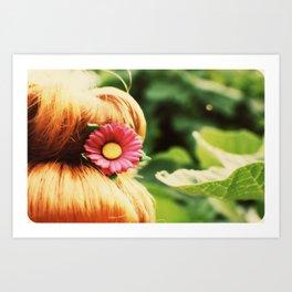 Ginger Bun Art Print
