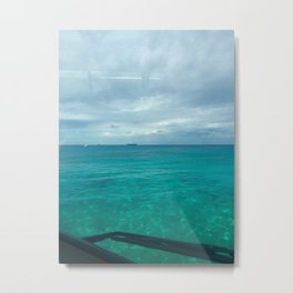 Grand Cayman Sea Metal Print