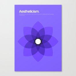 Aestheticism Canvas Print