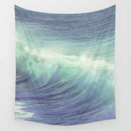 , Venice Beach, palm trees, vintage, oceanside, people,  beach photography Wall Tapestry