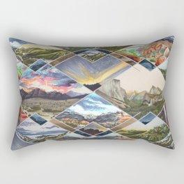 Diamond Mountains Rectangular Pillow