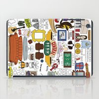 boobs iPad Cases featuring Collage by Loverly Prints