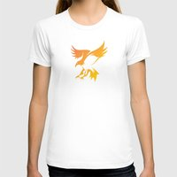phoenix T-shirts featuring Phoenix by Dale J Cheetham
