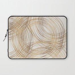 Metallic Circle Pattern Laptop Sleeve
