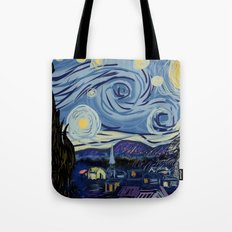Starry Wars Night Tote Bag