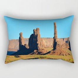 Totem Pole Arizona Rectangular Pillow