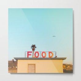 """FOOD"" Metal Print"