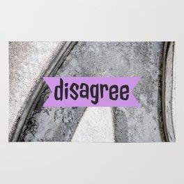 Talkers #6 disagree Rug