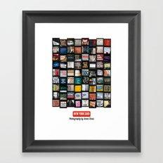 New York Said  Framed Art Print