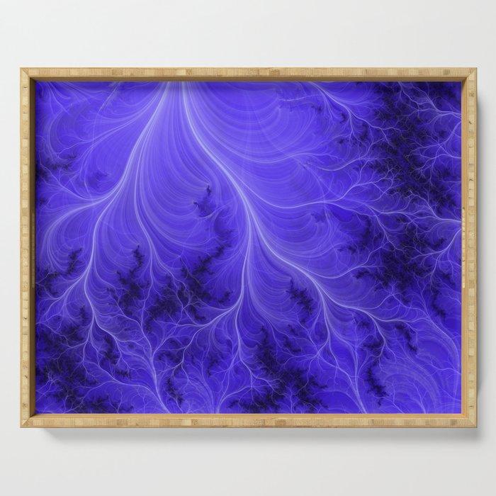 Lightning Nebula Serving Tray