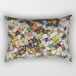 Lucky Seven Come Eleven Rectangular Pillow