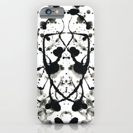 Rorschach`s Wife iPhone Case