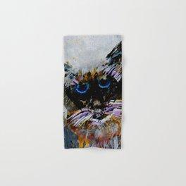 Old Cat Hand & Bath Towel
