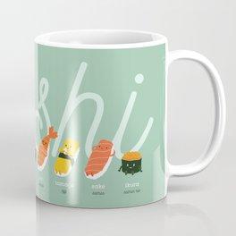 Sushi Kawaii Coffee Mug
