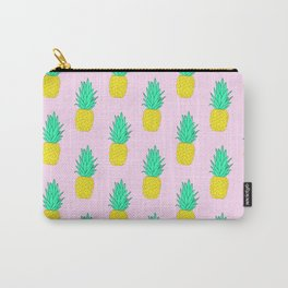Pineapples on pink #2 Carry-All Pouch