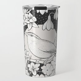 Spring Wren Travel Mug