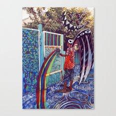 Psychoactive Bear 4 Canvas Print