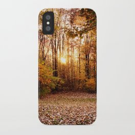 An Autumn Afternoon iPhone Case