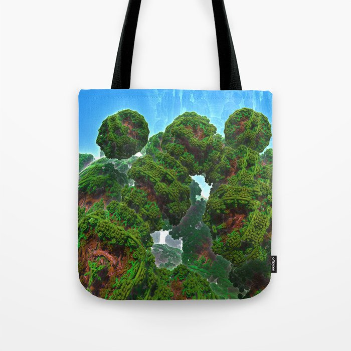 Bacterium Hedgerow Tote Bag