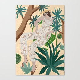 Paloma Wool Snake outfit Canvas Print