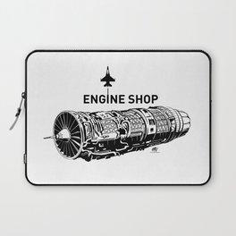 ENGINE SHOP - F16 Laptop Sleeve