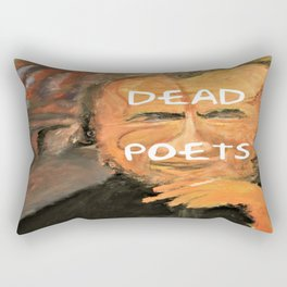 Bukowski, Dead Poets Art Rectangular Pillow
