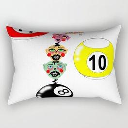 wind up, boys Rectangular Pillow