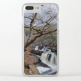 Rogie Falls, Near Inverness, Scotland - Scottish Landscape Clear iPhone Case