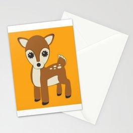 Forest Deer Nursery Set Stationery Cards