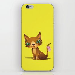 The Great Gold Meow iPhone Skin