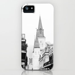 French Quarter Foggy Morning - New Orleans iPhone Case